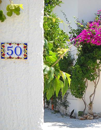 siamo al n.50 di Via Calazza a Castelluzzo - San Vito Lo Capo